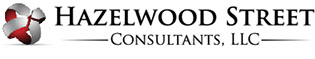 Hazelwood Street Consultants, LLC Sticky Logo